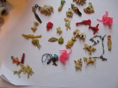 Lot of Celluloid Charms
