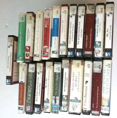 Lot of 22 Nonfiction Audiobooks on Cd Ex Library