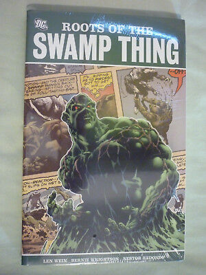 DC Comics Roots of the Swamp Thing Wein Wrightson Bedondo New Sealed