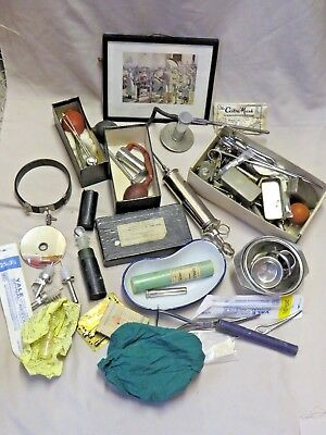 Large Collection Of A Surgeons Vintage Medical Instruments Wwii