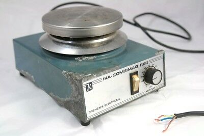IKA Combimag REO Drehzahl Magnetic Stirrer Electronic Motor Typ REO 0280 To Test