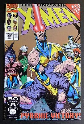Uncanny X-Men #280 - 1991 Marvel Comics - Near Mint NM Jim Lee - Wolverine