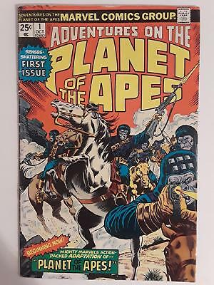 Adventures Of The Planet Of The Apes #1-11 (3.0-7.5) Set Of 7 Bronze Age Marvel!