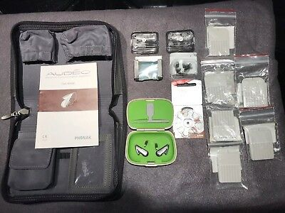 Pair Of Phonak Audeo IX Hearing Aid Systems. Seldom Used.