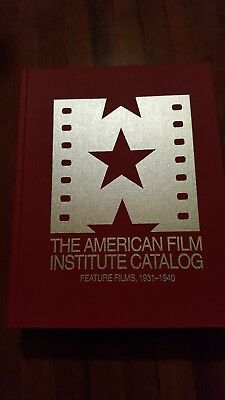 The American Film Institute Catalog of Feature Films Indexes 1931-1940 F3