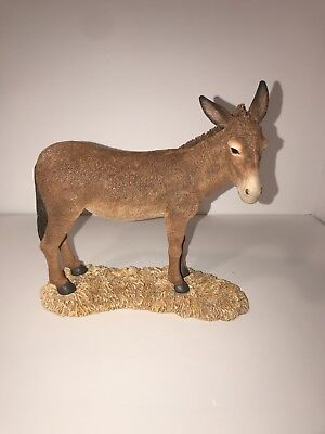Thomas Blackshear Ebony Visions THE NATIVITY DONKEY Limited Edition Figurine