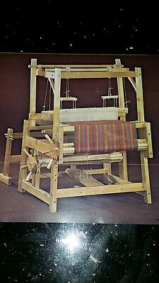 Floor loom Brand new made in Finland from premium Birch wood.4 shaft 80 cm width