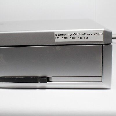 Samsung OfficeServ 7100 with MP10a & UNI module