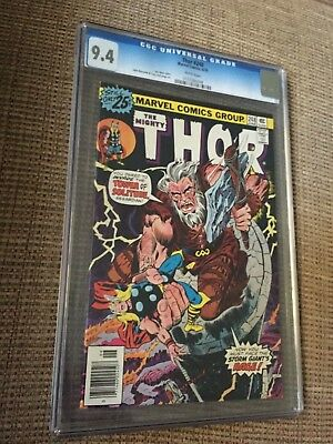 THOR #248 CGC 9.4 white pages