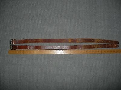 Original leather straps ( matching pair ) came with Light horse items