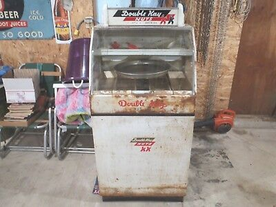Rare 1940-50's Large Double Kay Nut Shop Hot Peanut Machine Gumball Works