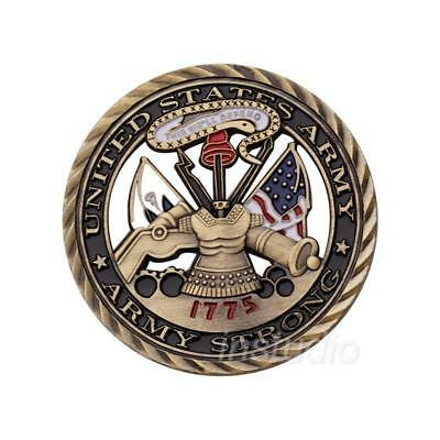 1775 US Army Core Values Commemorative Coin Hollow Military badge Crafts