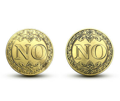 Coin decision theory commemorative coin both side are same pattern NO or NO