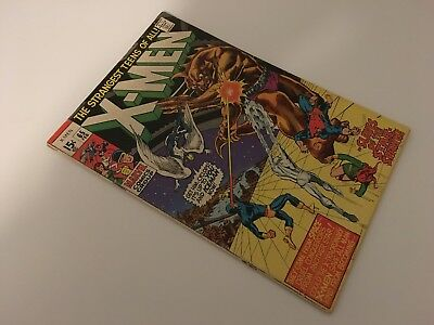 X-Men #65 - MARVEL 1970 - Professor Xavier returns!