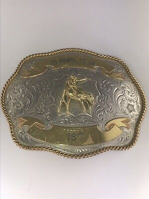 Estate 2005 Pampa TX Bull Riding 1st Trophy Buckle