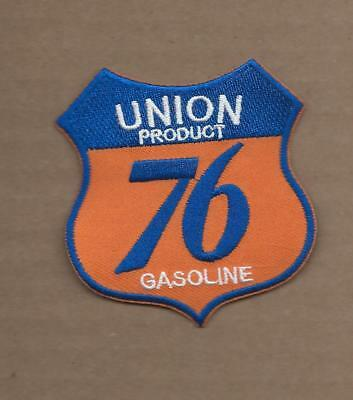 New 2 3/4 X 3 Inch Union 76 Gasoline Shield Iron On Patch Free Shipping