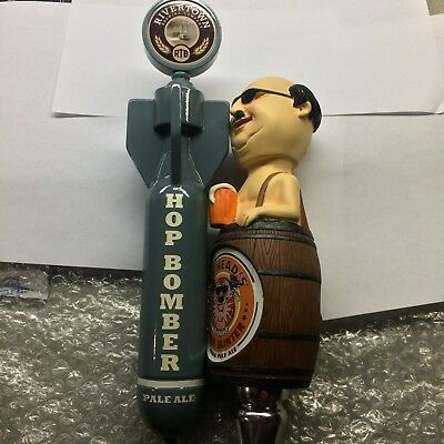 Beer Tap Handle (2) - Rivertown Hop Bomber And Fat Heads