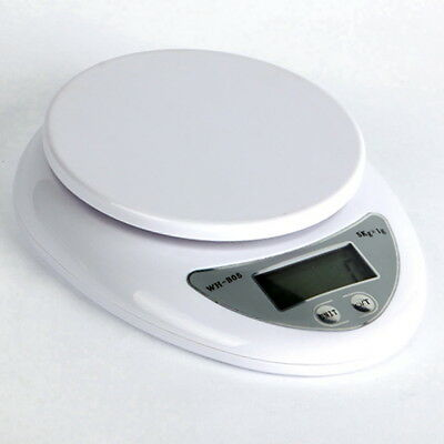 New 5kg 5000g/1g Digital Kitchen Food Postal Scale Electronic Weight Balance KW