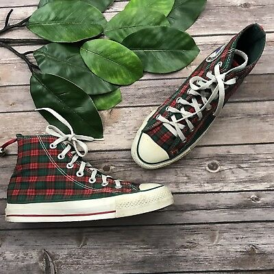 VINTAGE 80S CONVERSE ALL STAR MADE IN USA HIGH TOP SHOES