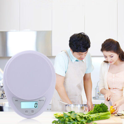 0.1g Cooking Digital Scale Electronic Weight Diet Kitchen Balanced Compact Food