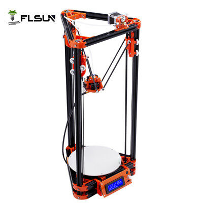 FLSUN-A4 Large Size Delta 3d printer Auto-leveling System Heated bed High Speed