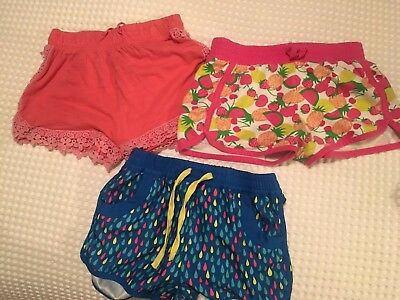 Bulk  Lot-Girls Youth - Shorts Size 6 & 7 , Should Fit Size 8 Too- Total 3 Piece