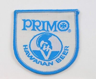 Vintage Embroidered PRIMO HAWAIIAN BEER Employee Uniform Patch Rare