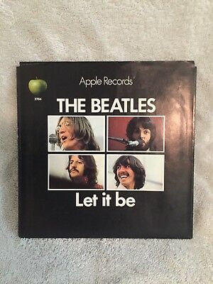 The Beatles picture sleeve only,Let It Be,US,NM- no reserve