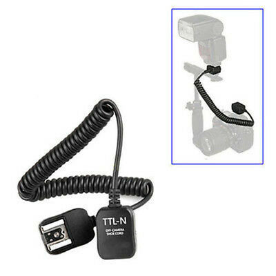 2.5meter i-TTL Off Camera FLASH sync Cord for Nikon SC-28 SC-17