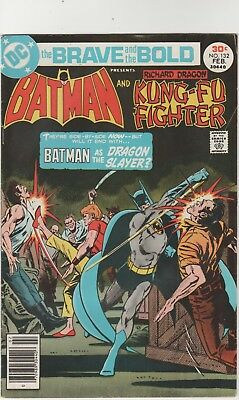 Brave And The Bold # 132**** Ft Batman And Kung Fu Fighter ****1977***fine