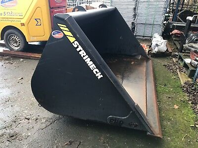 Strimech Telehandler Bucket With Pin & Cone Brackets