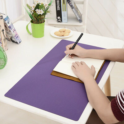 Large Desk Mat Pad Protector PU Leather Desk Non-Slip Laptop Keyboard Mouse Pad