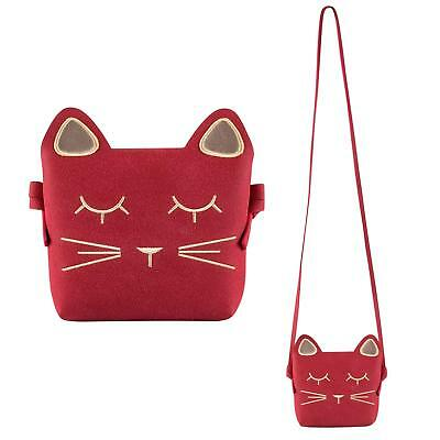CUTE CAT CROSSBODY Bag Mini Toddler Backpack for Little Girls (Kids ... 813707f7019fc
