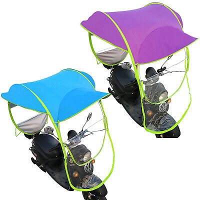 Hot Motor Scooter Umbrella Mobility Sun Shade & Rain Cover Waterproof 280 x 80cm