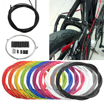 MTB Bike Bicycle Complete Front & Rear Set Inner Outer Jagwire Gear Brake Cable