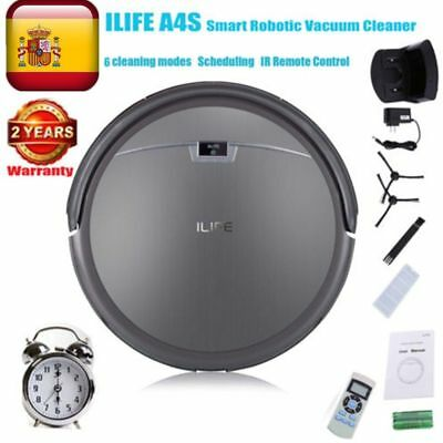 ILIFE A4S Smart Aspirator Robot Edge Cleaner Automatic Vacuum Cleaning-Gris
