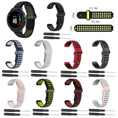 Soft Silicone Replacement Strap for Garmin Forerunner 230 235 220 620 630 735