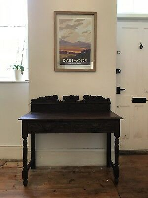 Antique Console Table And Mirror