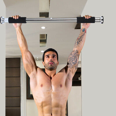 Portable Multi-functional Home&Gym Chin Pull Up Door Bar Way Exercise Fitness