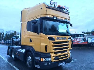 2013 Scania R500 V8 Topline With Tag Axle