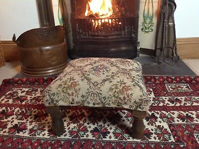 Vintage Tapestry stool French Fantastic