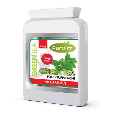 GREEN TEA CAPSULES 2000mg EGCG STRONG SLIMMING WEIGHT LOSS DIET PILLS