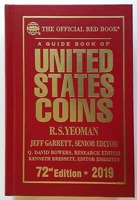 Red Book Guide Book United States Coins 2019 Kenneth Bressett Signed Autographed