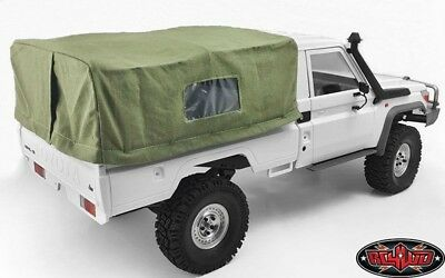 RC4WD VVV-C0403 Bed Soft Top w/Cage for Land Cruiser LC70 (Green)