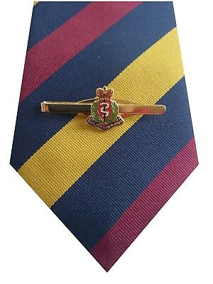 RAMC Royal Army Medical Corps Tie & Tie Clip Set e018