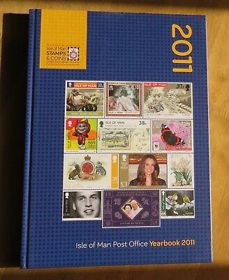 Isle of Man Post Office 2011 Yearbook - No stamps