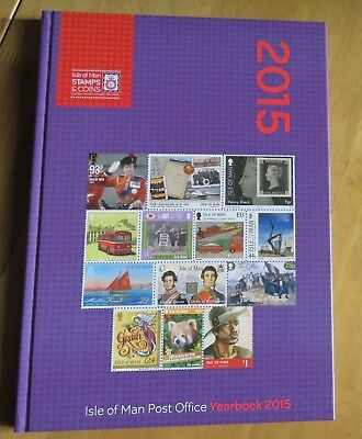 Isle of Man Post Office 2015 Yearbook - No stamps