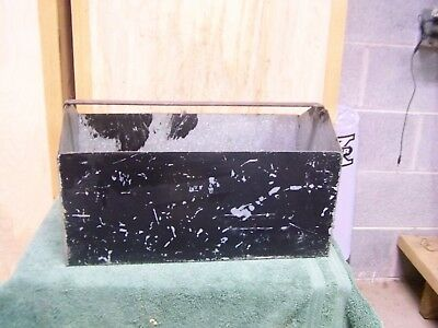 Vintage Industrial Galvanized Metal Tool Caddy Planter Box Tray Carry Hand Made