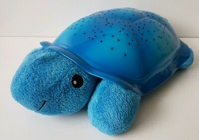 Official Cloud B Blue Twilight Turtle Light Up Toy Night Light Star Projector