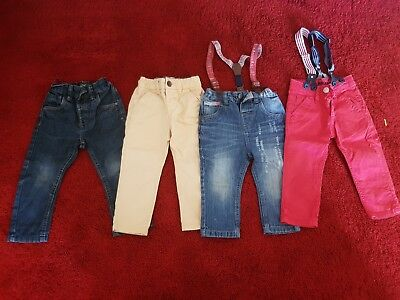 Next Boys Jeans Size 9-12 And 12-18